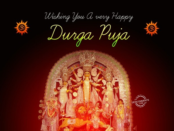 Wishing You a very Happy Durga Puja