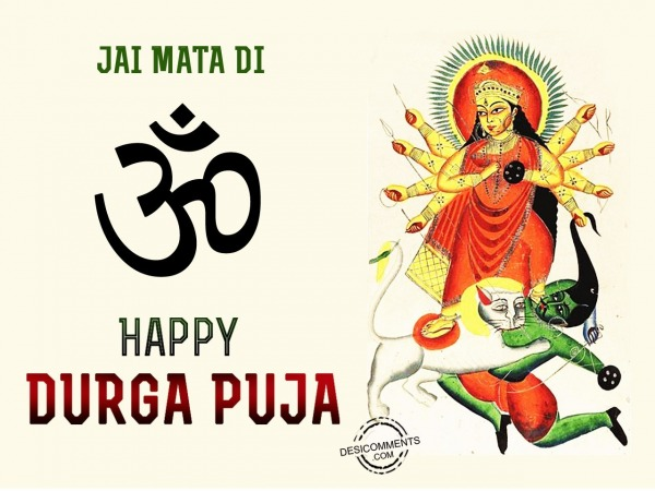Picture: Jai mata di,Happy Durga Pooja