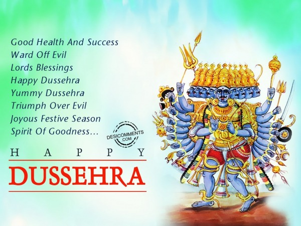 Happy Dussehra, Yummy Dussehra