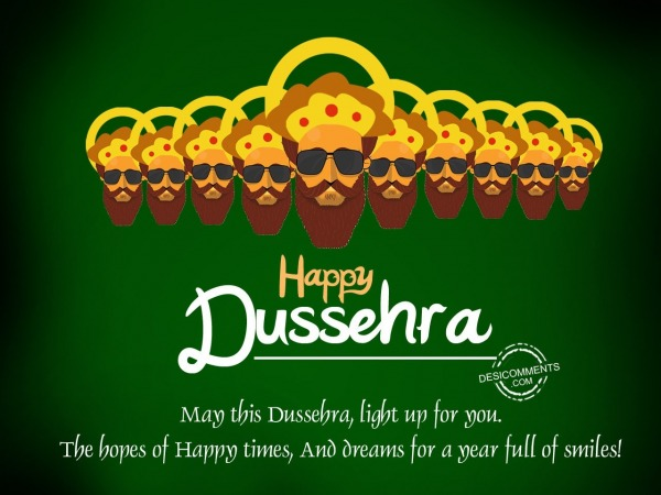 Picture: May this Dussehra light up you