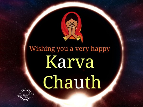 Picture: Wishing you a very Happy Karva Chauth