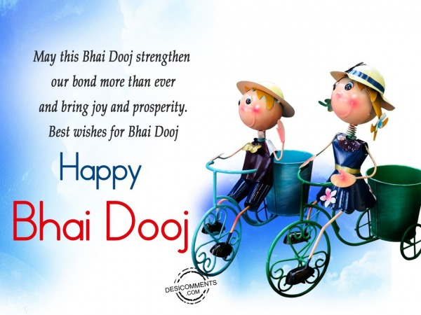 Picture: May this Bhai Dooj strength our bond