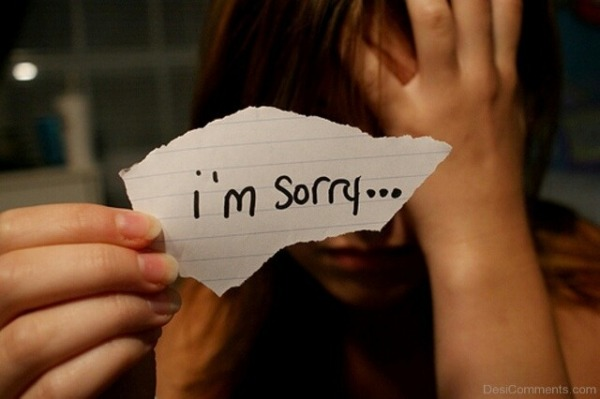 Picture: I'm sorry…