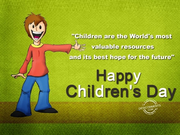 Picture: Children's are the world's most valueable resources