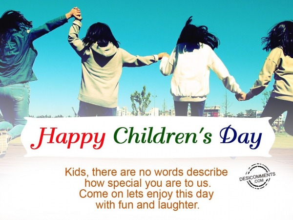 Picture: There are no words to describe, Happy Children's Day