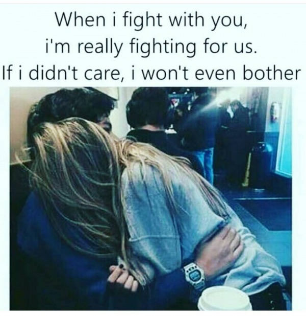 When I Fight With You
