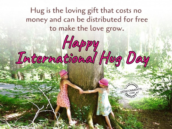 Hug is the loving gift