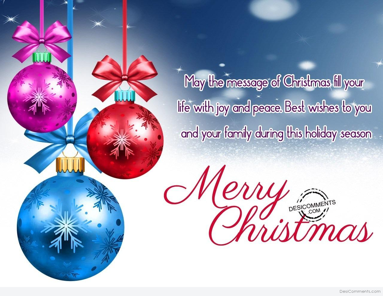 Christmas pictures images graphics for facebook whatsapp page 4 may the message of christmas voltagebd Images