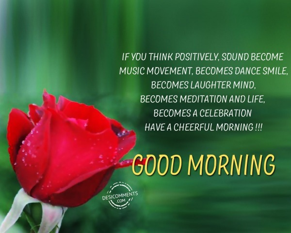 Have A Cheerful Morning