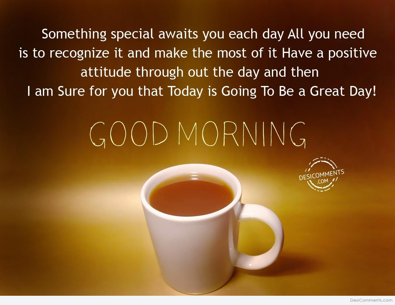Have A Positive Attitude Good Morning Desicommentscom