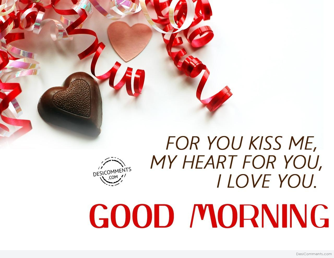 I Love You  Good Morning - DesiComments.com
