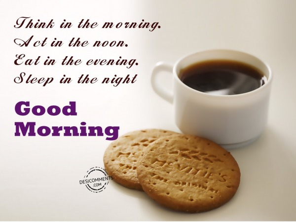 Think In The Morning - Good Morning