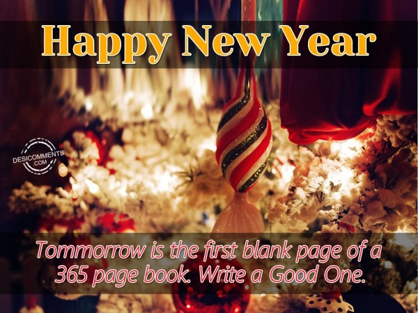 Picture: Happy New Year – 1st January