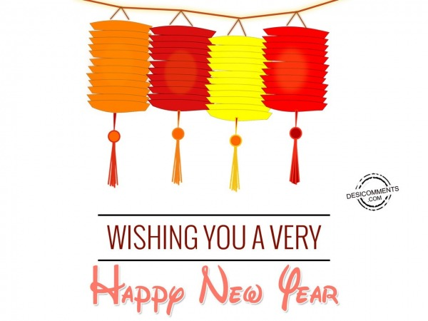 Picture: Wishing you a Very Happy New Year