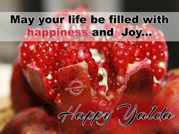 May your life be filled with happiness and joy...