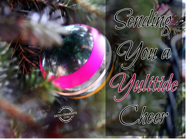 Sending you a yuletide cheer