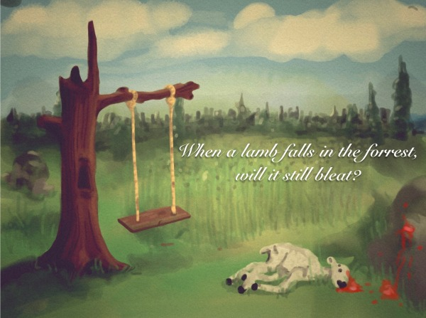 Picture: When a Lamb Falls