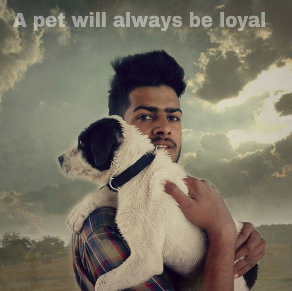 A Pet Will Always Be Loyal