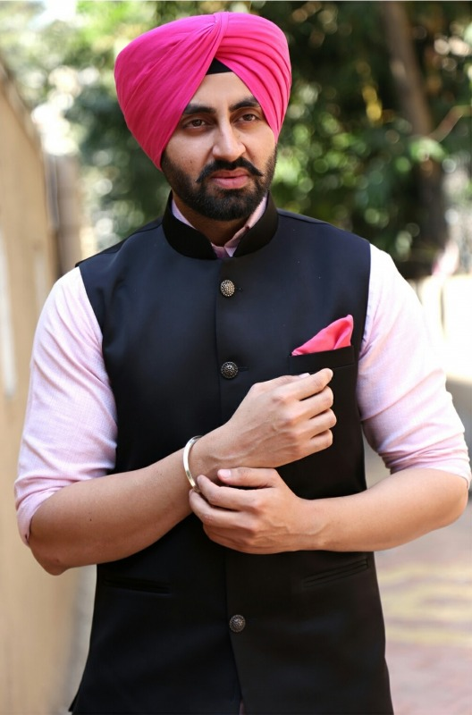 Sikh Actor Model Simarjeet Nagra
