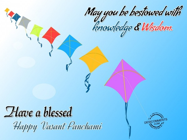Picture: May You Be Bestowed With Knowledge Wisdom