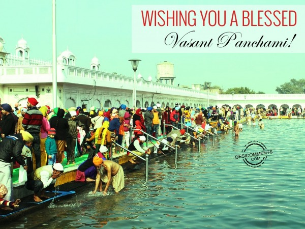 Wishing You A Blessed Vasant Panchami
