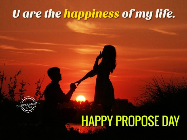 Picture: U Are The Happiness Of My Life