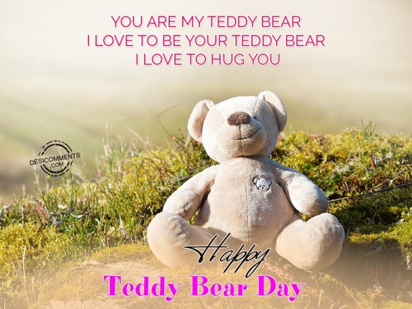 You Are My Teddy Bear I love To Be Your Teddy Bear
