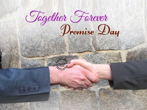 Together Forever- Promise Day