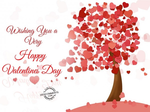 Picture: Wishing You A Very Happy Valentine's Day