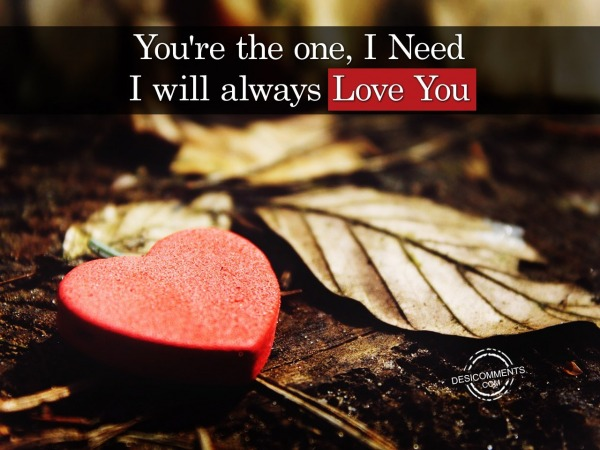 Picture: You're The One, I Need I Will Always Love You