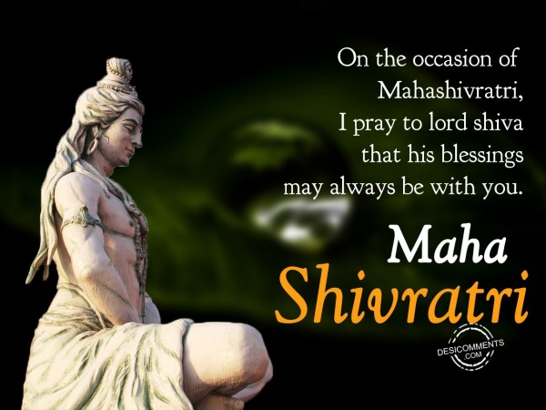 On the occasion of mahashivratri