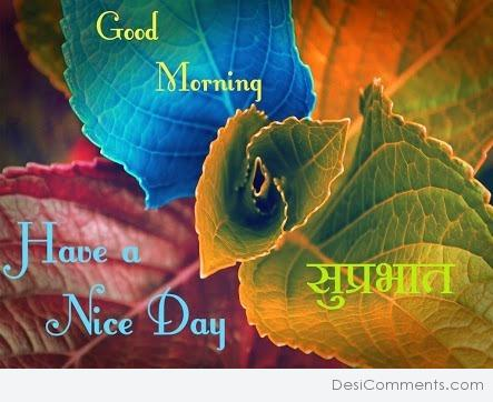 Good morning Have Nice Day