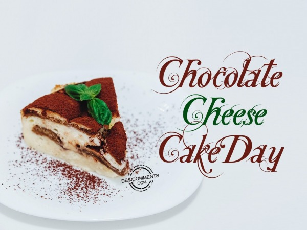 March 6 Very Happy Chocolate Cheese Cake Day6