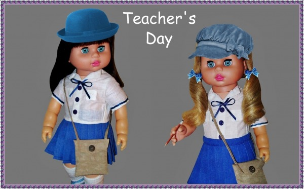 Picture: Teacher's Day Dolls
