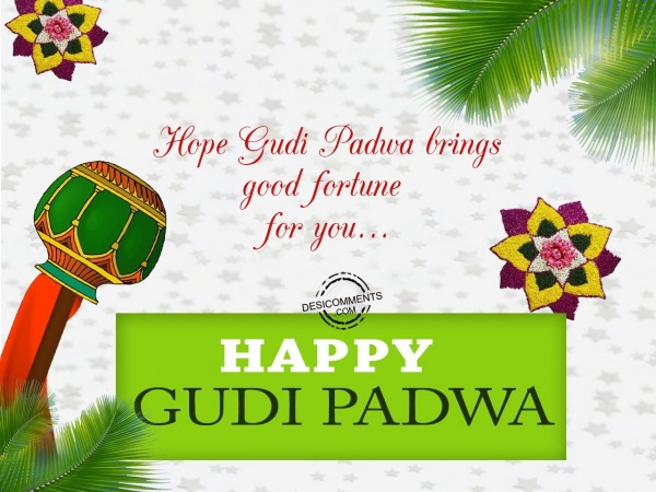 Picture: Hope Gudi Padwa brings good fortune for you
