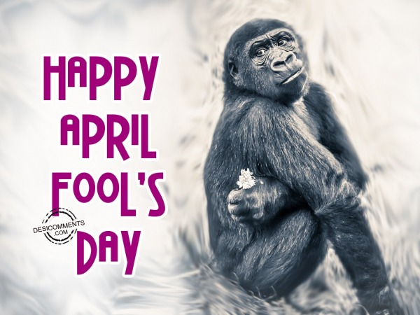 Picture: 1 April, Happy April Fool's Day