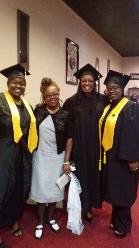 Graduation Day 2017 Sister's & Neice