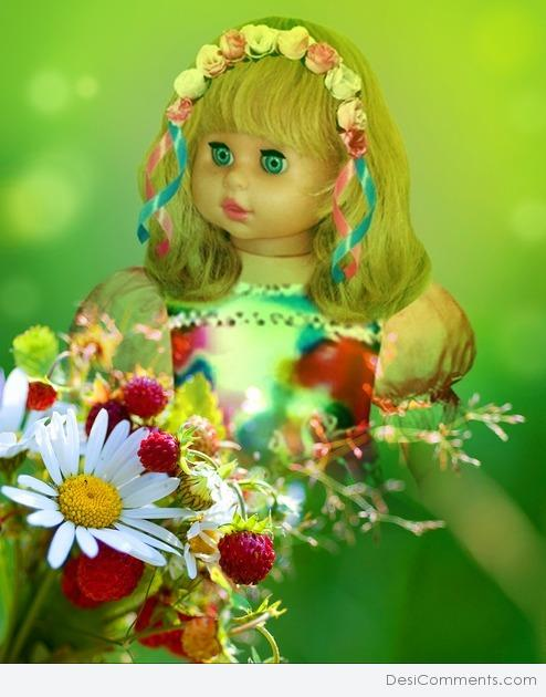 Beautiful Doll Pic