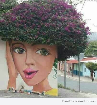Picture: Funny Wall Painting