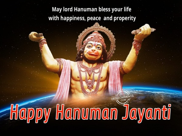 Picture: May lord Hanuman bless you