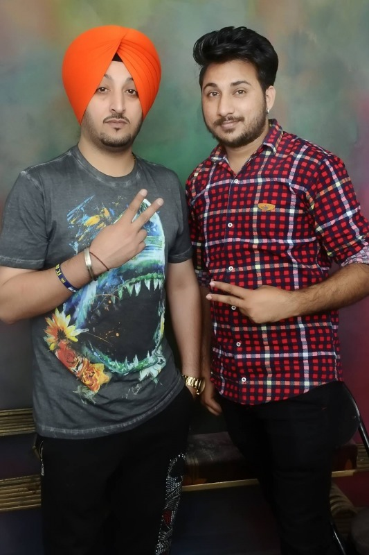 Abhi Jassal With Inderjit Nikku