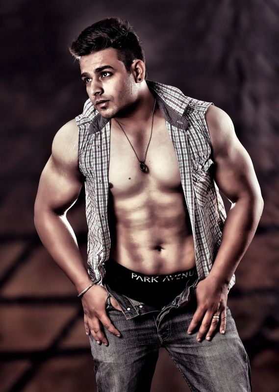 Image Of Punjabi Male Model Manbir Sidhu