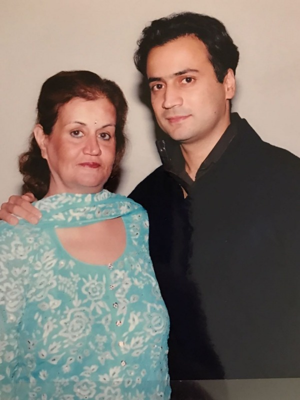 Sanjeev Nanda With His Mother