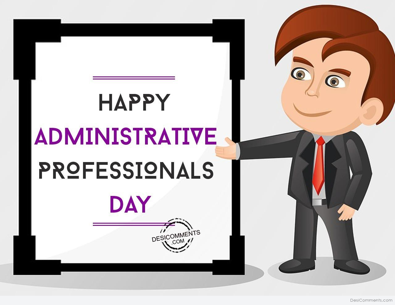 very happy administrative professionals day