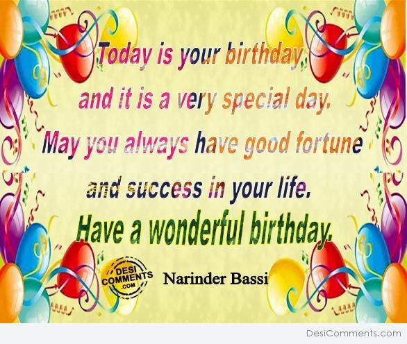 Picture: Have a Wonderful Birthday