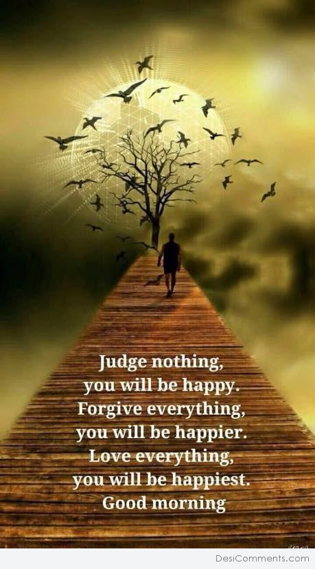 Judge Nothing - Good Morning