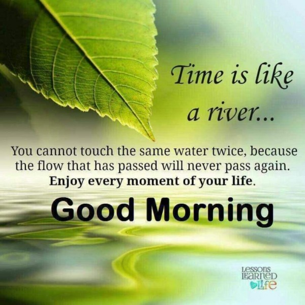 Time Is Like River