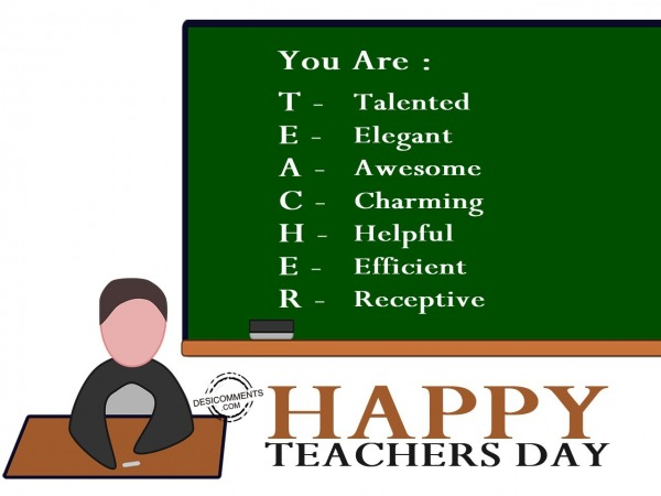 Picture: You are teacher