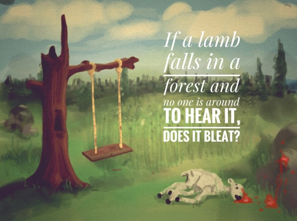 Picture: If a Lamb Falls in a Forest…