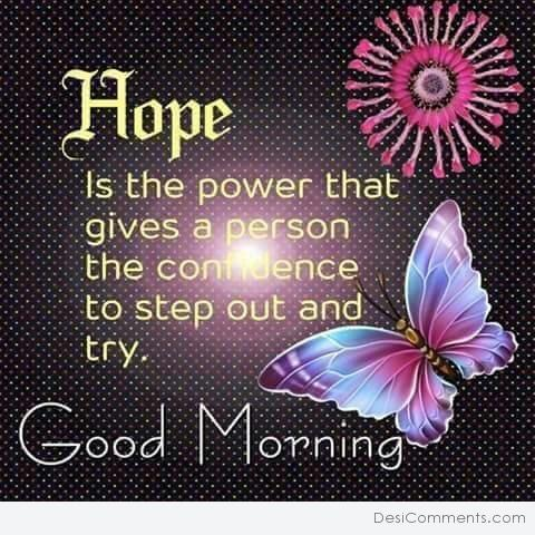 Hope Is The Power